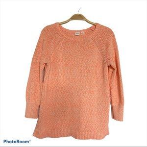 GAP Knit 3/4 Sleeves Scoop neck Sweater - Size S